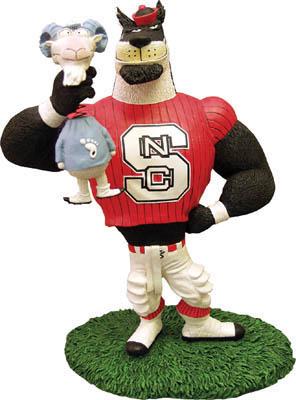 NC State Wolfpack Lester Single Choke Rivalry Figurine