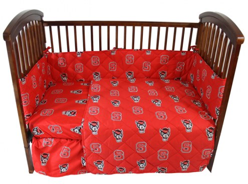 NC State Wolfpack Baby Crib Set