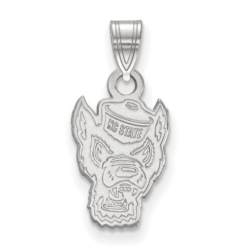 North Carolina State Wolfpack Sterling Silver Small Pendant