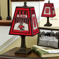 NC State Wolfpack NCAA Hand-Painted Art Glass Table Lamp