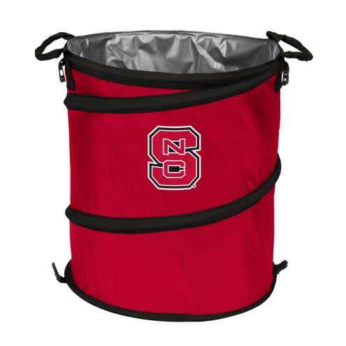 North Carolina State Wolfpack Collapsible Trashcan
