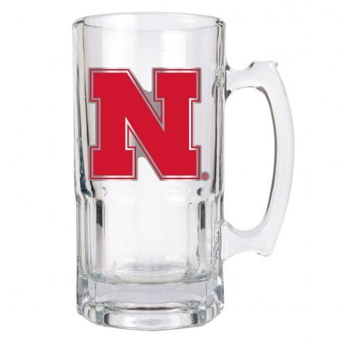 Nebraska Cornhuskers College 1 Liter Glass Macho Mug