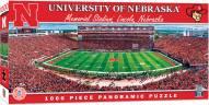Nebraska Cornhuskers 1000 Piece Panoramic Puzzle