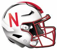 "Nebraska Cornhuskers 12"" Helmet Sign"