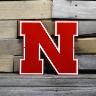 "Nebraska Cornhuskers 12"" Steel Logo Sign"