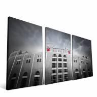 "Nebraska Cornhuskers 24"" x 48"" Stadium Canvas Print"