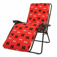 Nebraska Cornhuskers 3 Piece Chaise Lounge Chair Cushion