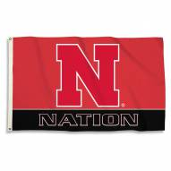 Nebraska Cornhuskers 3' x 5' Nation Flag