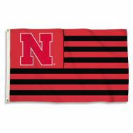 Nebraska Cornhuskers 3' x 5' Stripes Flag
