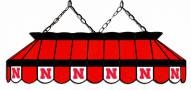 "Nebraska Cornhuskers 40"" Stained Glass Pool Table Light"