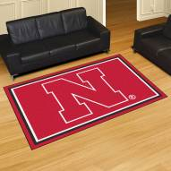 Nebraska Cornhuskers 5' x 8' Area Rug