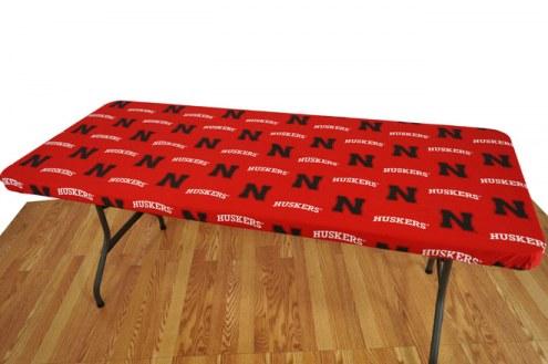 Nebraska Cornhuskers 6' Logo Table Cover