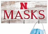 "Nebraska Cornhuskers 6"" x 12"" Mask Holder"