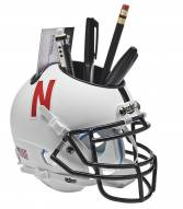 Nebraska Cornhuskers Alternate 2 Schutt Football Helmet Desk Caddy