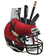 Nebraska Cornhuskers Alternate 3 Schutt Football Helmet Desk Caddy