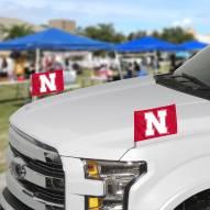 Nebraska Cornhuskers Ambassador Car Flags