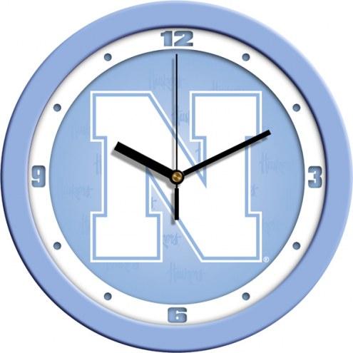Nebraska Cornhuskers Baby Blue Wall Clock