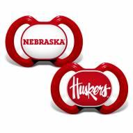 Nebraska Cornhuskers Baby Pacifier 2-Pack