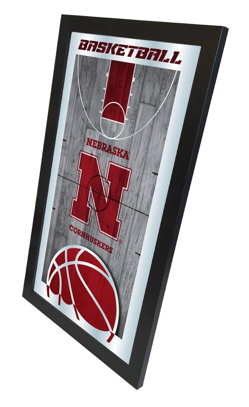 Nebraska Cornhuskers Basketball Mirror