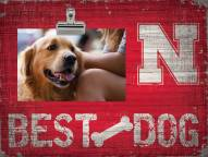 Nebraska Cornhuskers Best Dog Clip Frame