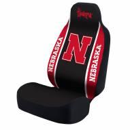 Nebraska Cornhuskers Black/Red Universal Bucket Car Seat Cover