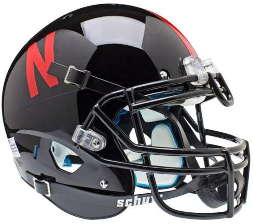 Nebraska Cornhuskers Black Schutt XP Authentic Full Size Football Helmet