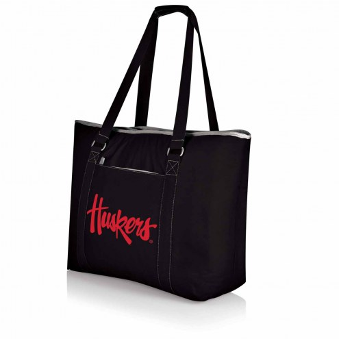 Nebraska Cornhuskers Black Tahoe Beach Bag