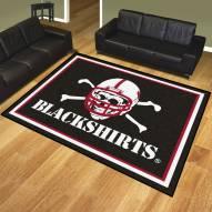 Nebraska Cornhuskers Blackshirts 8' x 10' Area Rug