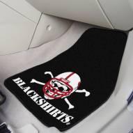 Nebraska Cornhuskers Blackshirts 2-Piece Carpet Car Mats