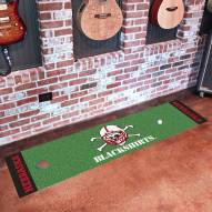 Nebraska Cornhuskers Blackshirts Golf Putting Green Mat