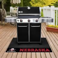 Nebraska Cornhuskers Blackshirts Grill Mat
