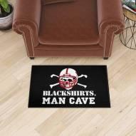 Nebraska Cornhuskers Blackshirts Man Cave Starter Mat