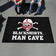 Nebraska Cornhuskers Blackshirts Man Cave Ulti-Mat Rug