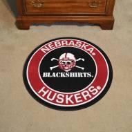 Nebraska Cornhuskers Blackshirts Rounded Mat