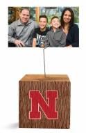 Nebraska Cornhuskers Block Spiral Photo Holder