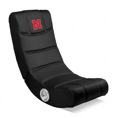 Nebraska Cornhuskers Bluetooth Gaming Chair