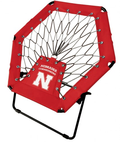 Nebraska Cornhuskers Bungee Chair