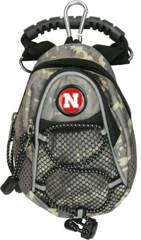 Nebraska Cornhuskers Camo Mini Day Pack