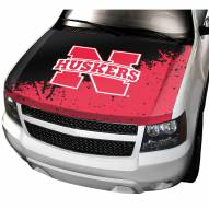 Nebraska Cornhuskers Car Hood Cover