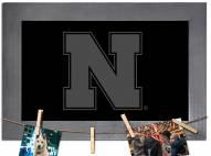 Nebraska Cornhuskers Chalkboard with Frame