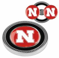 Nebraska Cornhuskers Challenge Coin with 2 Ball Markers