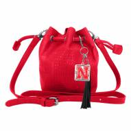 Nebraska Cornhuskers Charming Mini Bucket Bag