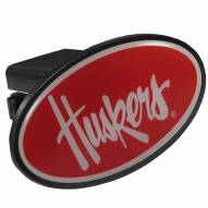 Nebraska Cornhuskers Class III Plastic Hitch Cover