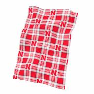 Nebraska Cornhuskers Classic XL Fleece Blanket