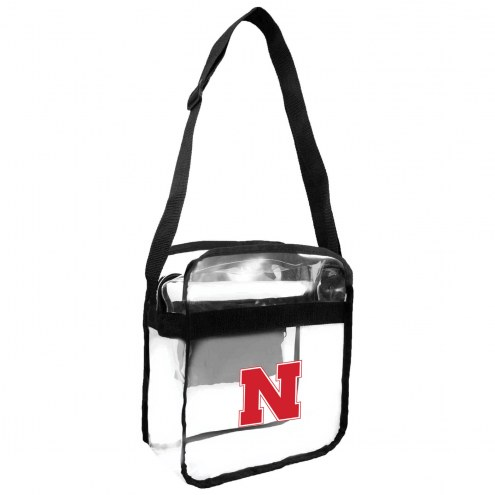 Nebraska Cornhuskers Clear Crossbody Carry-All Bag