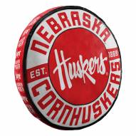 Nebraska Cornhuskers Cloud Travel Pillow