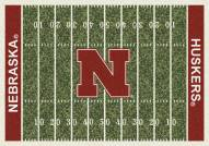 Nebraska Cornhuskers College Home Field Area Rug