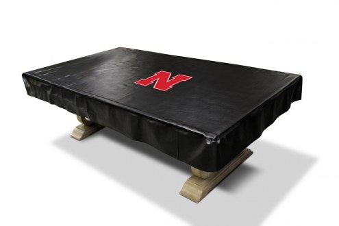 Nebraska Cornhuskers College Pool Table Cover