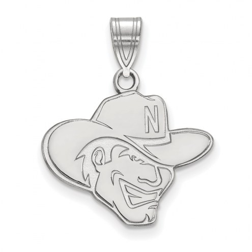 Nebraska Cornhuskers Sterling Silver Medium Pendant