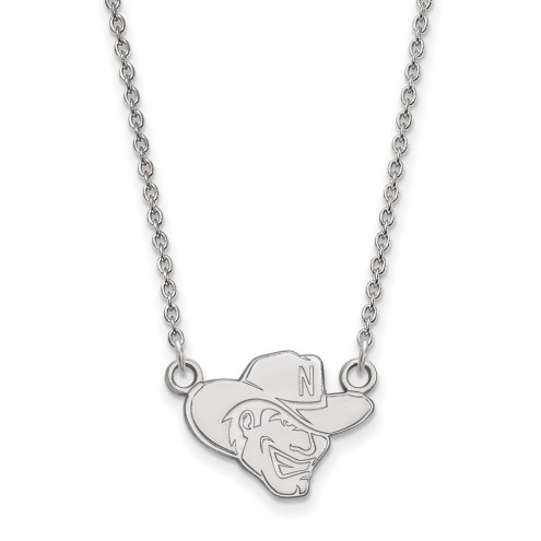 Nebraska Cornhuskers Sterling Silver Small Pendant Necklace